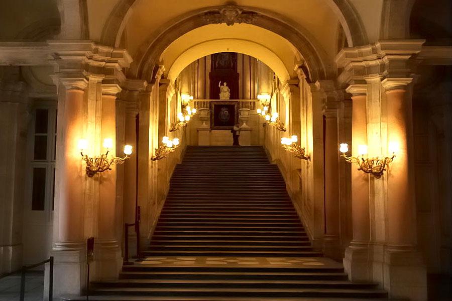 Escalera del Palacio de Aranjuez