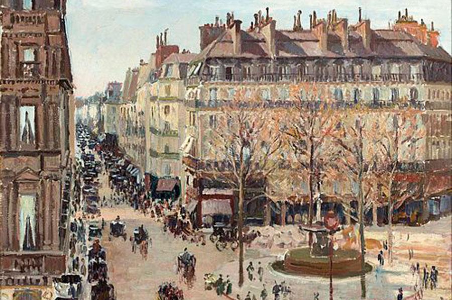 La rue Saint Honoré