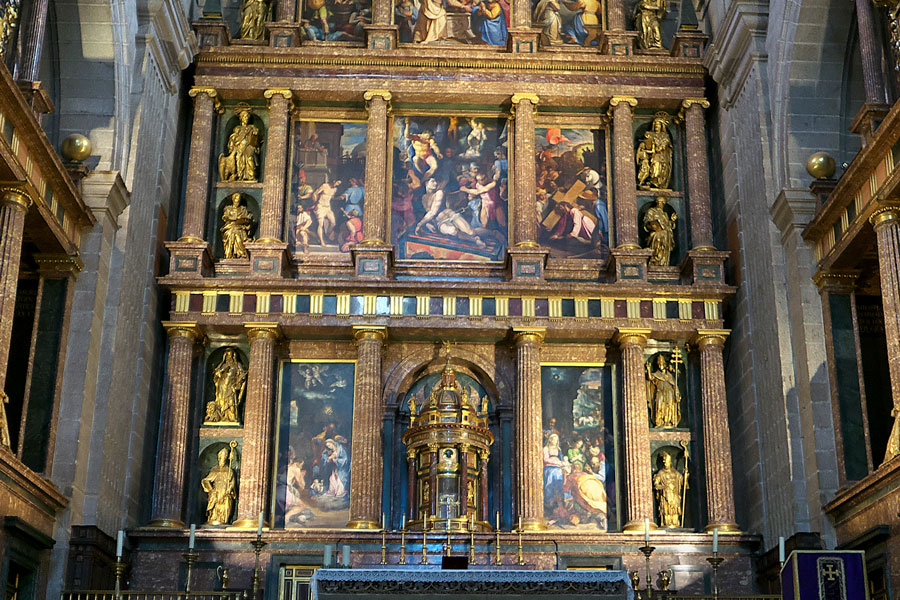 Retablo mayor de San Lorenzo de El Escorial